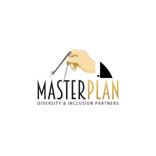 Elegant Logo for MASTER PLAN