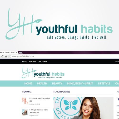 Youthful Habits Logo Design