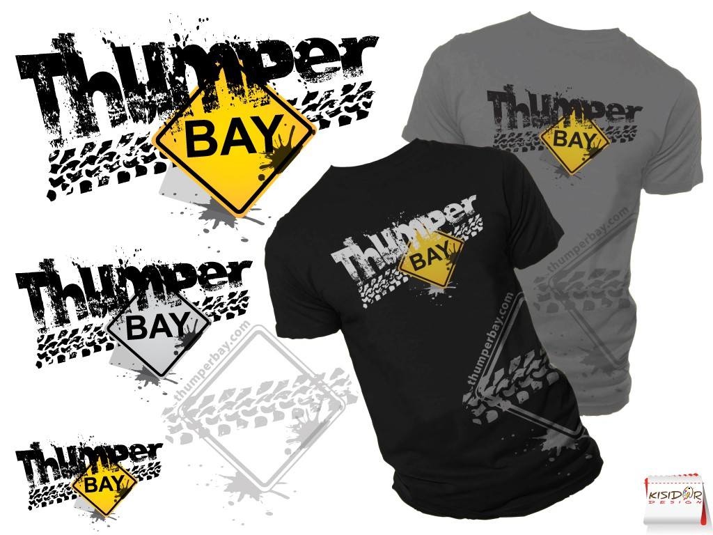 New logo wanted for ThumperBay, thumperbay, THUMPERBAY - don't be afraid to play with case combinations