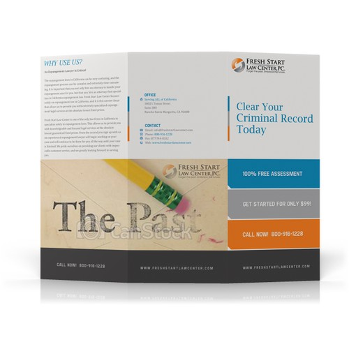 Fresh Start Law Center brochure