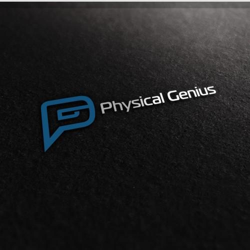 Physical Genius logo design