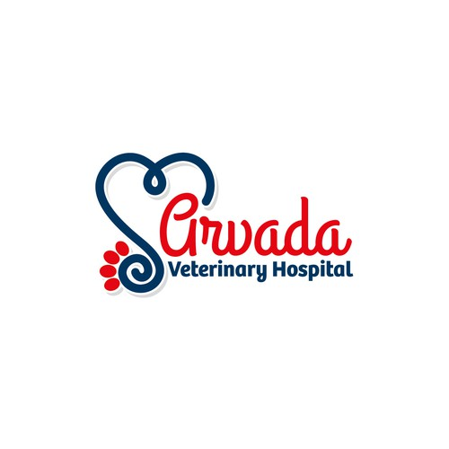 Veterinary Hospital Logo