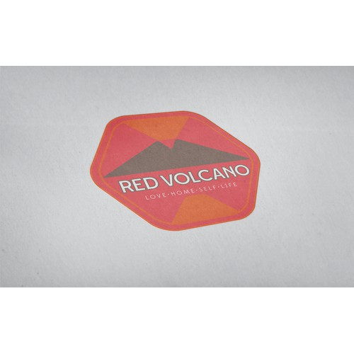 New logo and business card wanted for Red Volcano