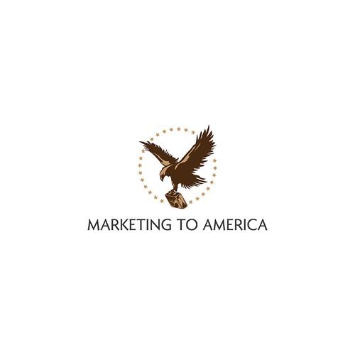 Logo for Marketing to America