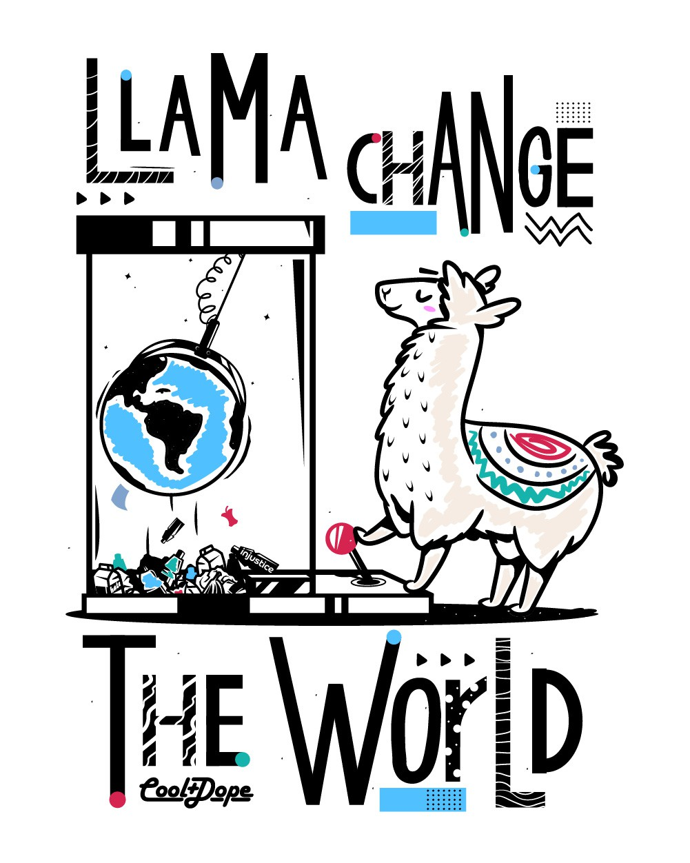 Llama Change the World