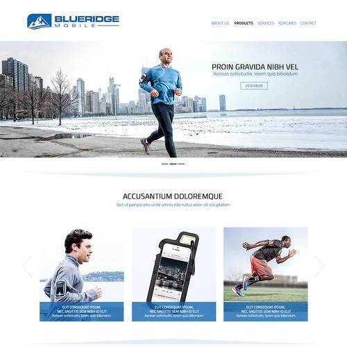 Website for a Smartphone Case Manufacturer