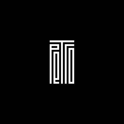 Sharp Geometric Logo for a Photographer