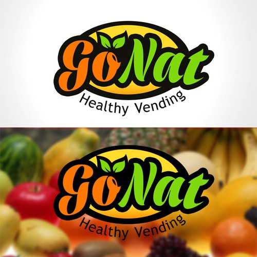 logo for GoNat Healthy Vending, LLC