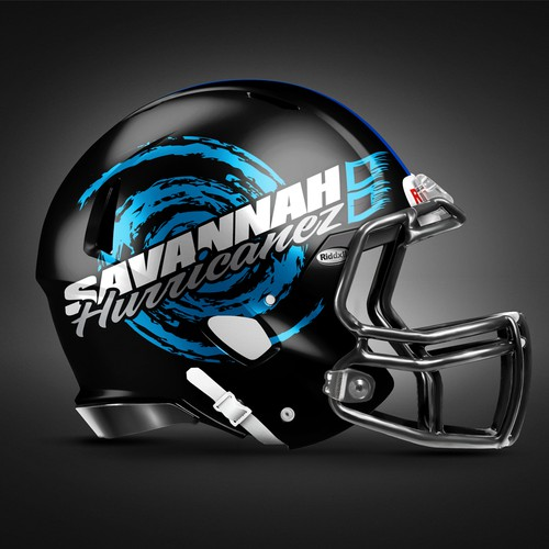 Logo for semi-pro football team