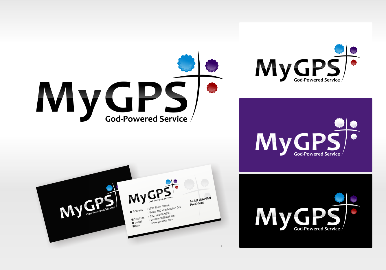 New logo wanted for My GPS (God-Powered Service)