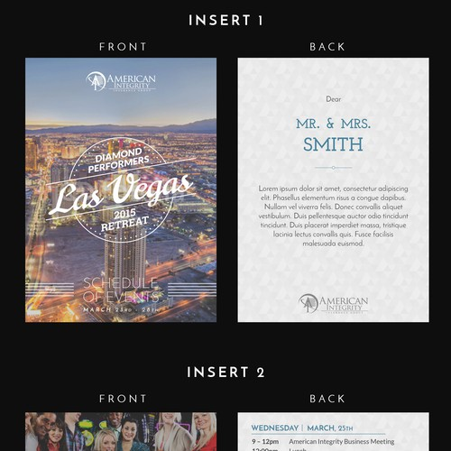 Las Vegas Partner Recognition Invitation