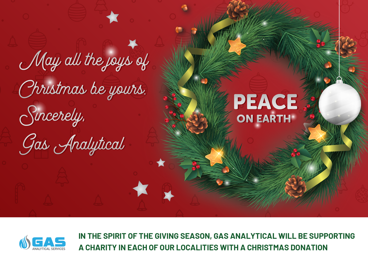 Christmas Card for Gas Analytical