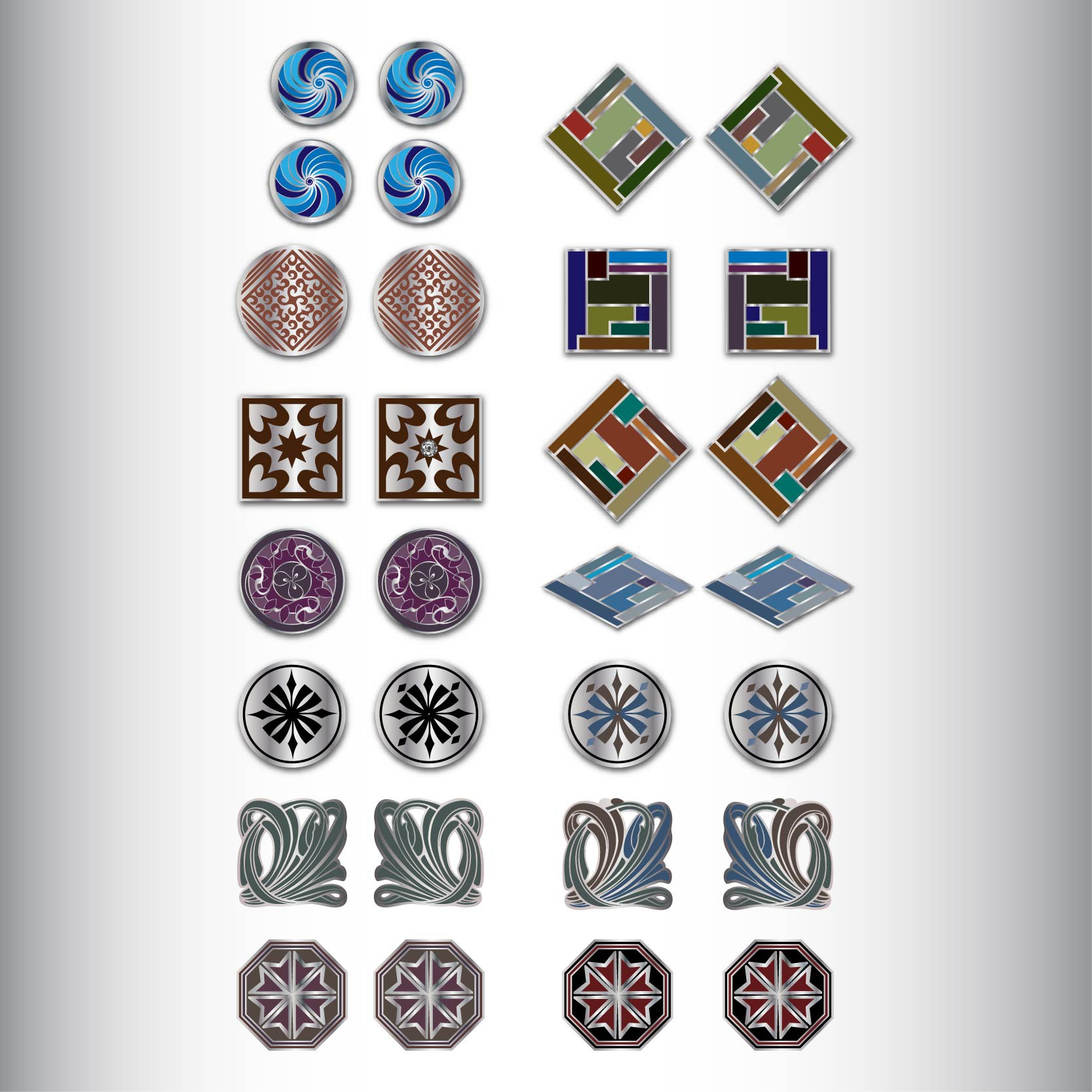 Be The Designer to CREATE our NEW range of CUFFLINKS! MULTIPLE WINNERS!