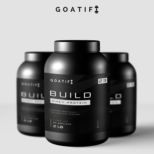GOATIF, BUILD whey protein