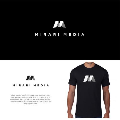 Modern Logo Design for MIRARI MEDIA