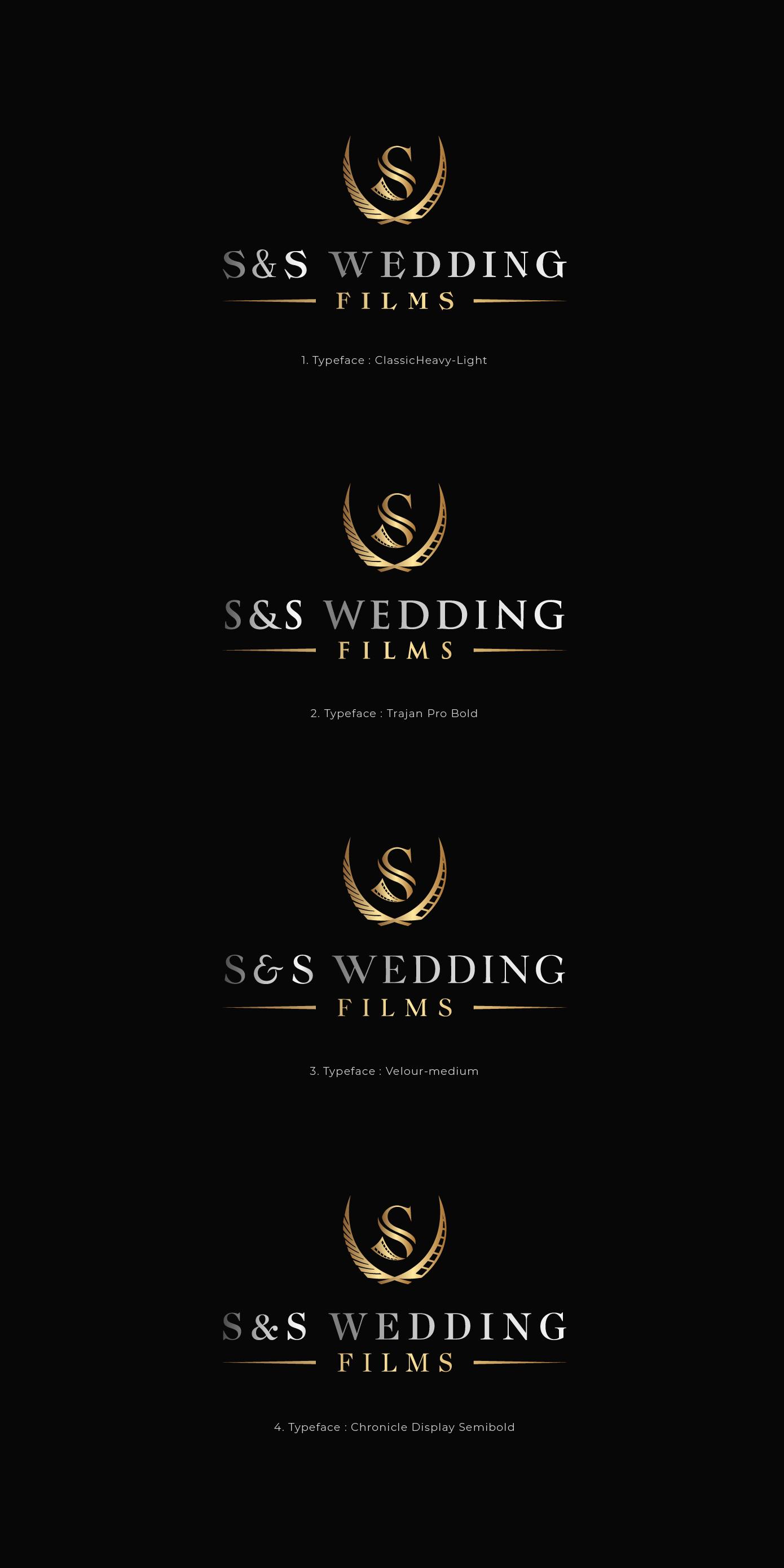 Design a Bold and Elegant logo for a Luxury Wedding Film Company!