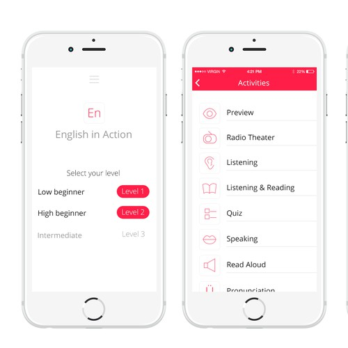 English in Action iPhone app