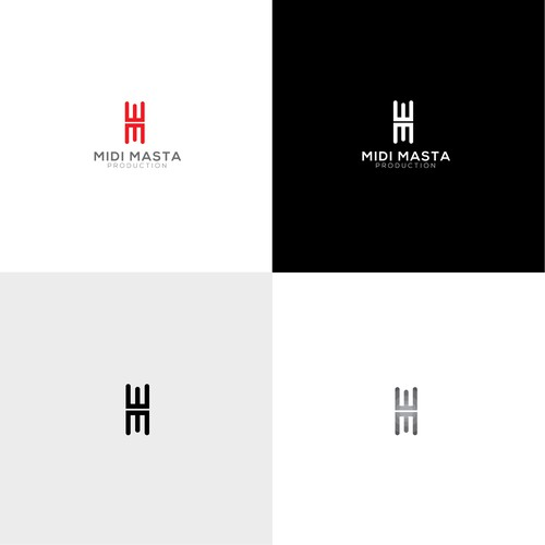 Modern Logo of Midi Masta