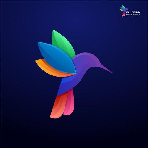 Bird colorfull logo