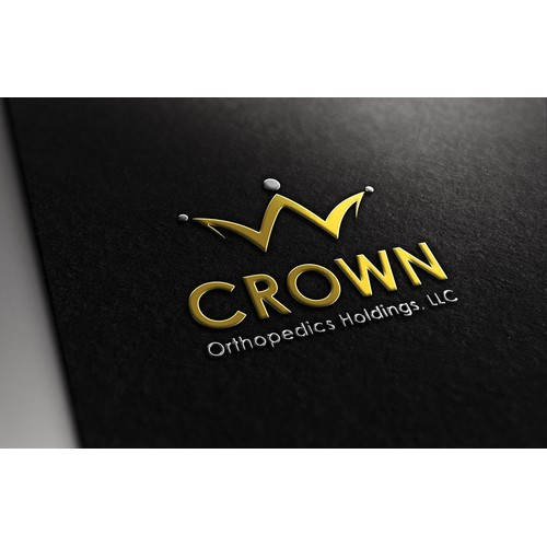 logo and business card for Crown Orthopedics Holdings, LLC