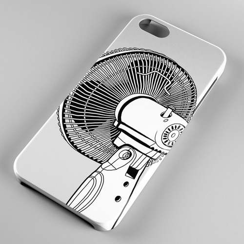 Mobile phone case illustration
