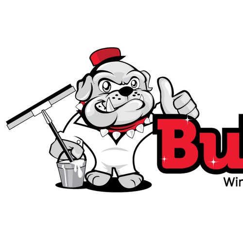 logo for Bulldog Window Cleaning, LLC