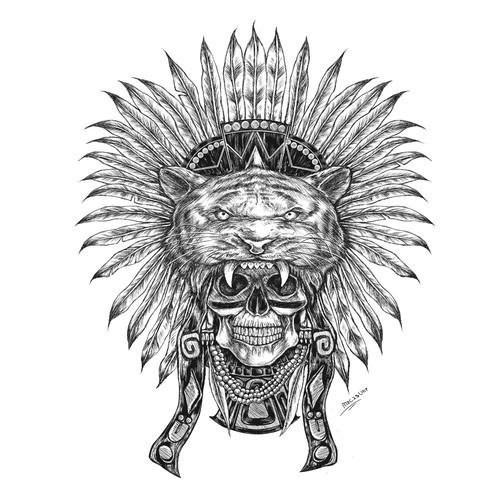 mexican headdress