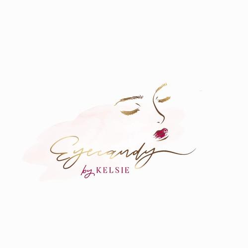 Elegant logo for beauty business - Eyecandy by Kelsie