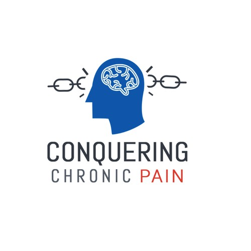 Clean modern logo for a pain management program