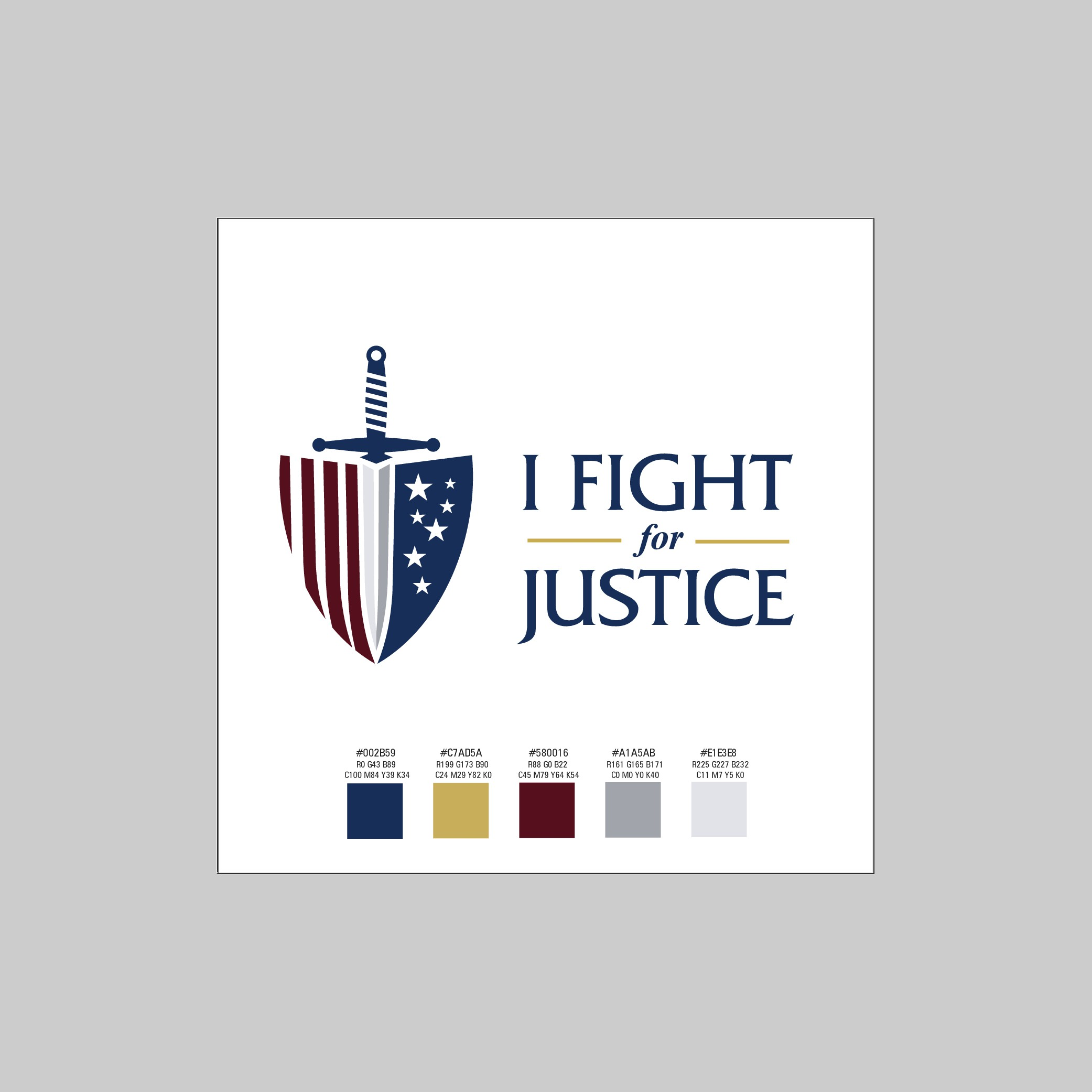 Lawyer's group needs logo and campaign concept for fundraising