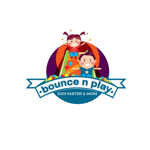 LOOKING FOR BRIGHT, Fun designers that will create a logo for our KID'S PARTY FRANCHISE!