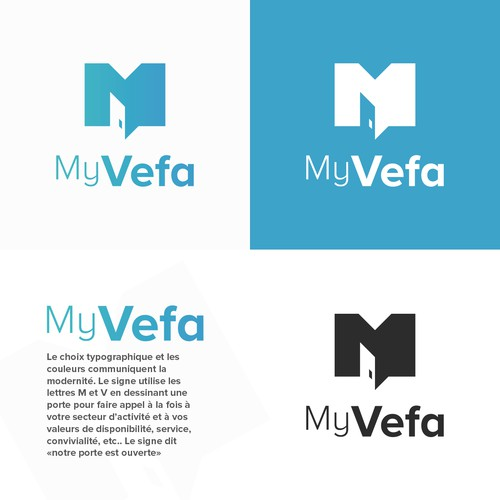 Logo Concept for MyVefa
