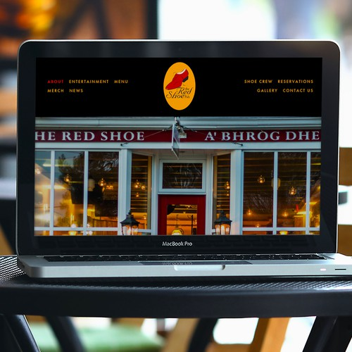 Bold, Beautiful Website Built for Famous Musical Pub
