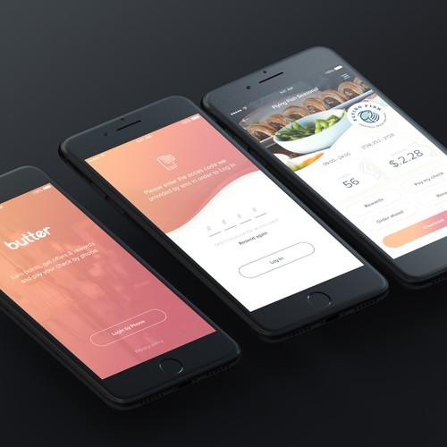 App concept for Restaurant reward points