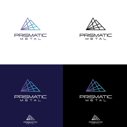Modern Logo for CNC laser-cutting company.