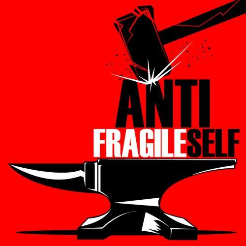 Create an Antifragile logo for the upcoming book AntiFragile Self