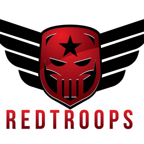 Create the new RedTroops logo!
