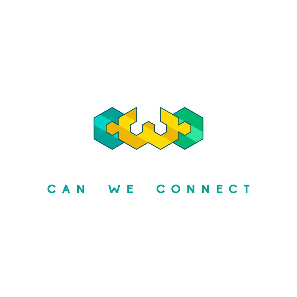 Logo for mobile app company connecting remote workers to eachother in real time & own location
