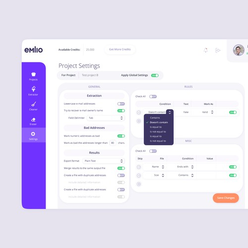 UI design for desktop app