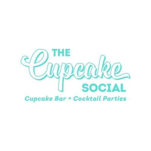 Stylish Wordmark for the Cupcake Social