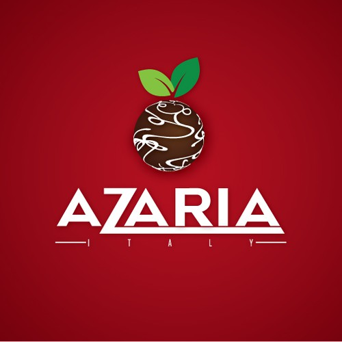logo and business card for Azaria