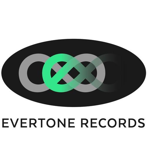 logo concept for record company