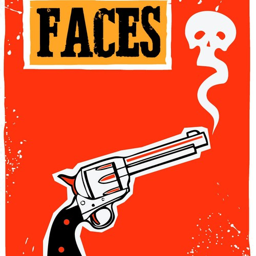 Design a Cover For A Fun Action/Comedy Western!
