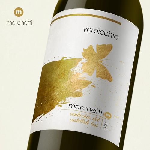 Wine label for Marchetti