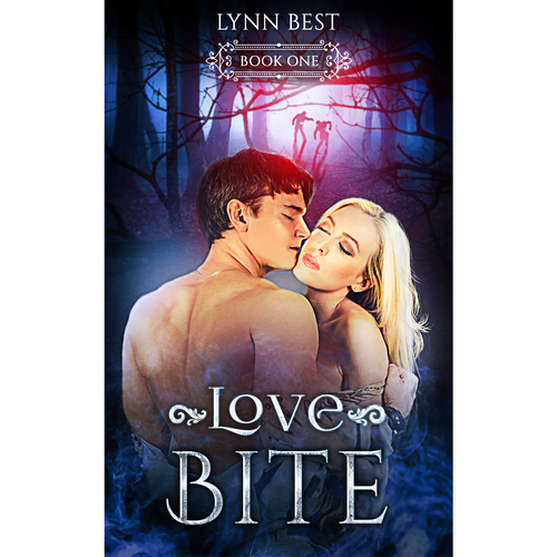 Book cover design for Love bite