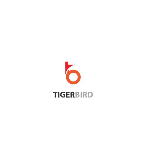 logo concept for tigerbird