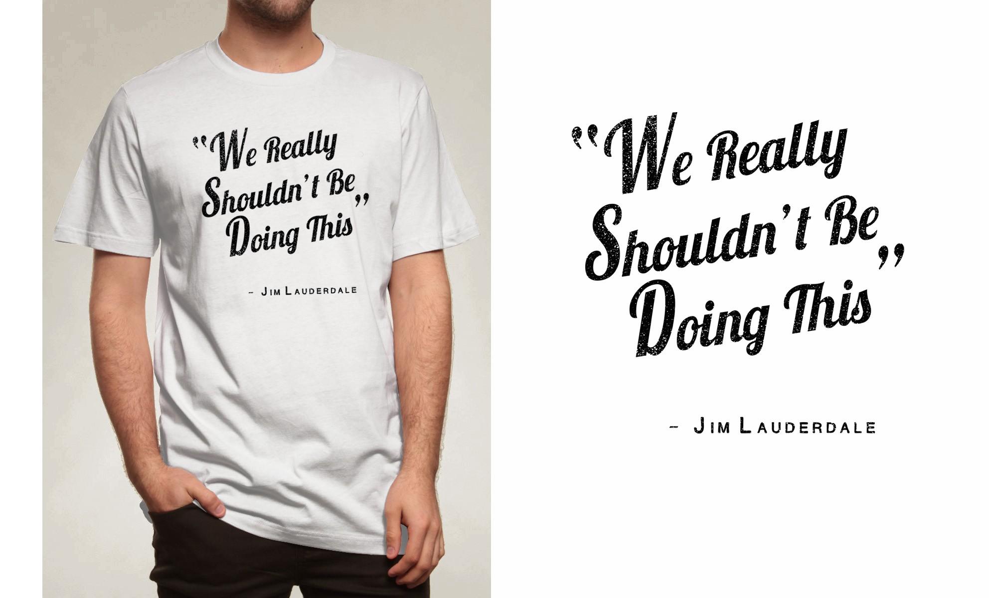 T-shirt for Grammy winner Jim Lauderdale