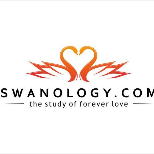 Swanology.com: Seeking Heartwarming, Love-Inspiring Logo