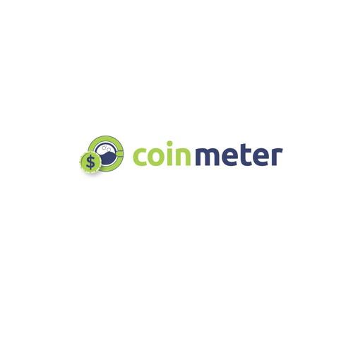 logo concept for Coin Meter