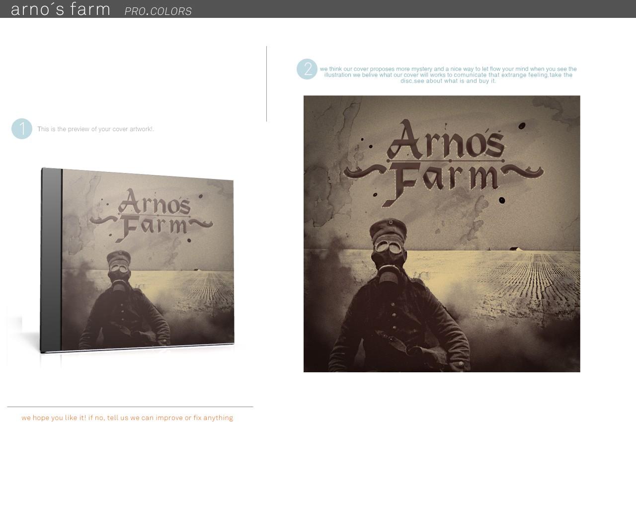 Help Arno's Farm create a CD album cover!
